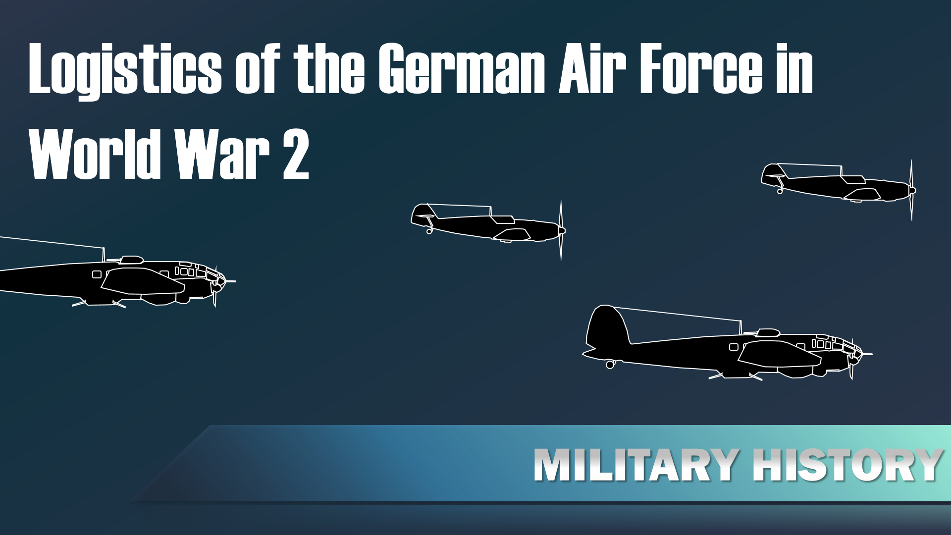 Logistics of the Luftwaffe in World War 2