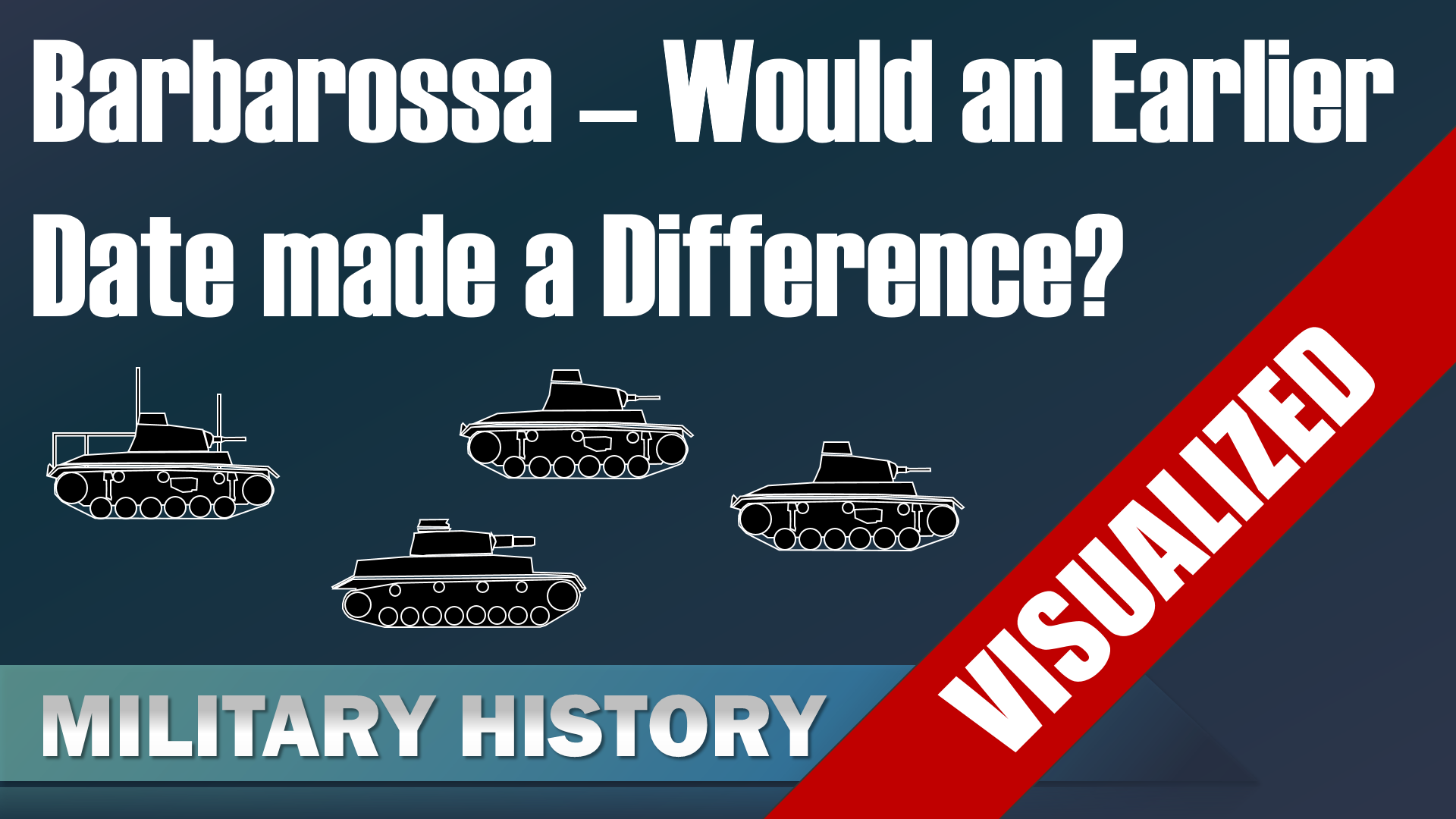 Barbarossa would an earlier date made a difference?