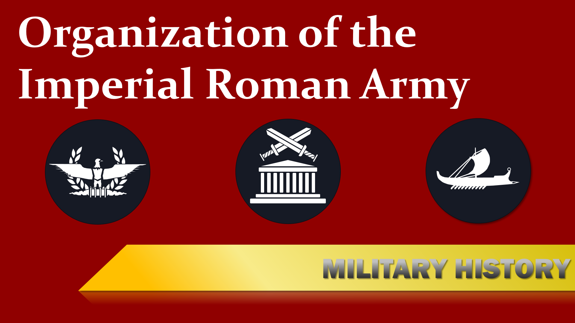 Organization Imperial Roman Army