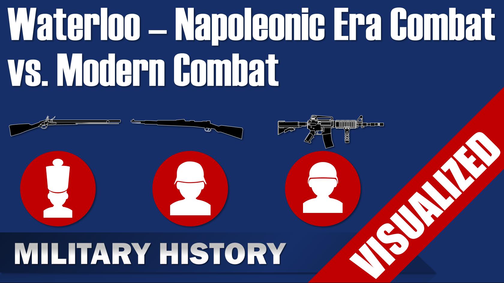 Waterloo Napoleonic Era Combat Vs Modern Combat