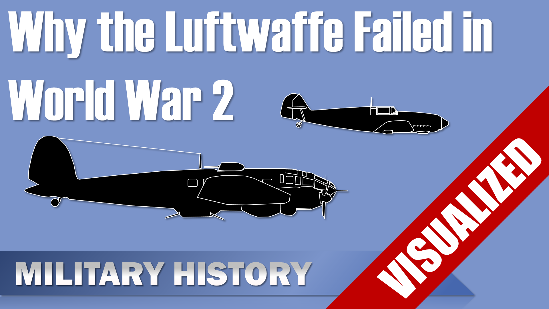 Why The Luftwaffe Failed In World War 2
