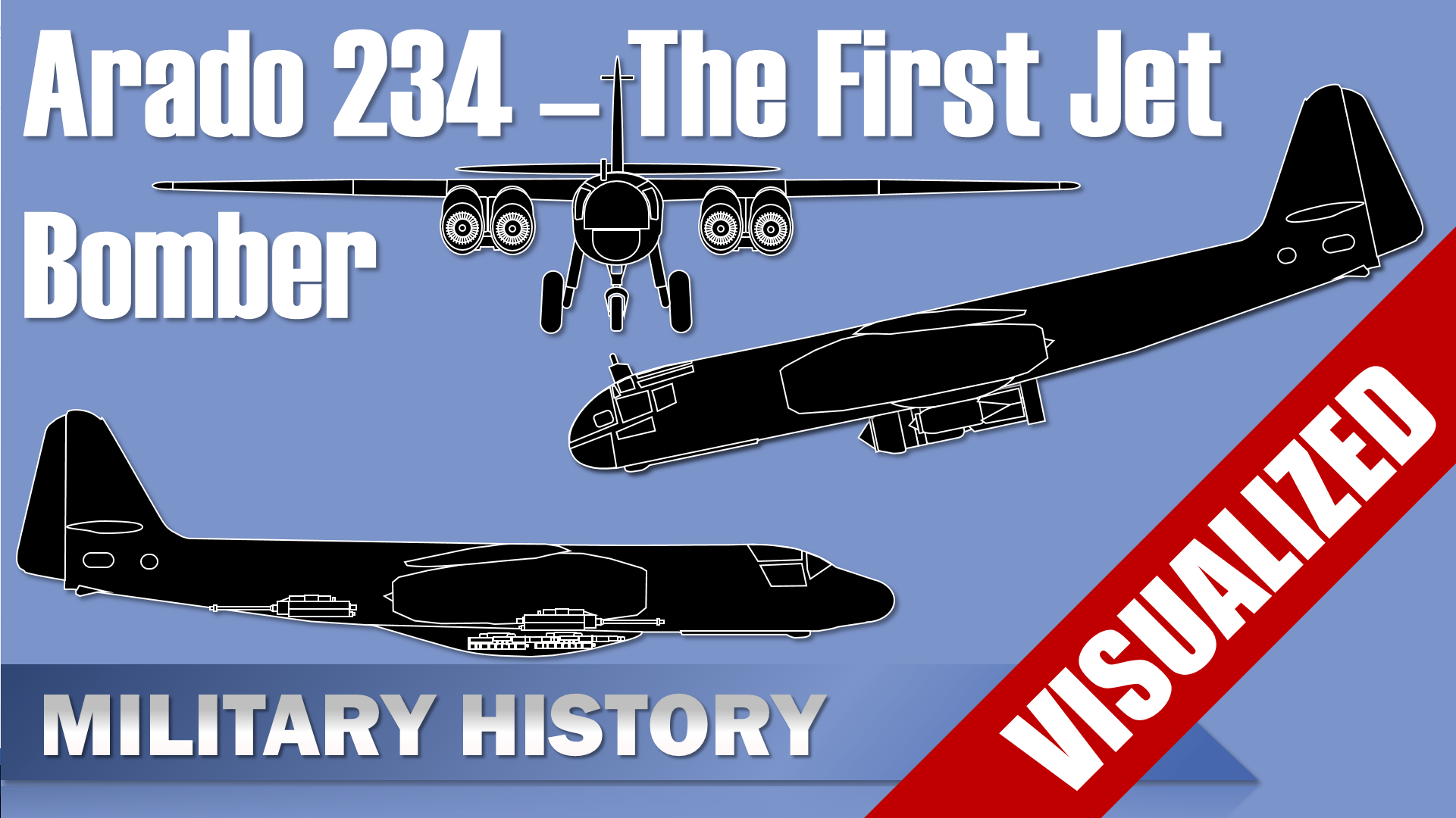 Arado Ar 234 – The First Jet Bomber and some special Variants