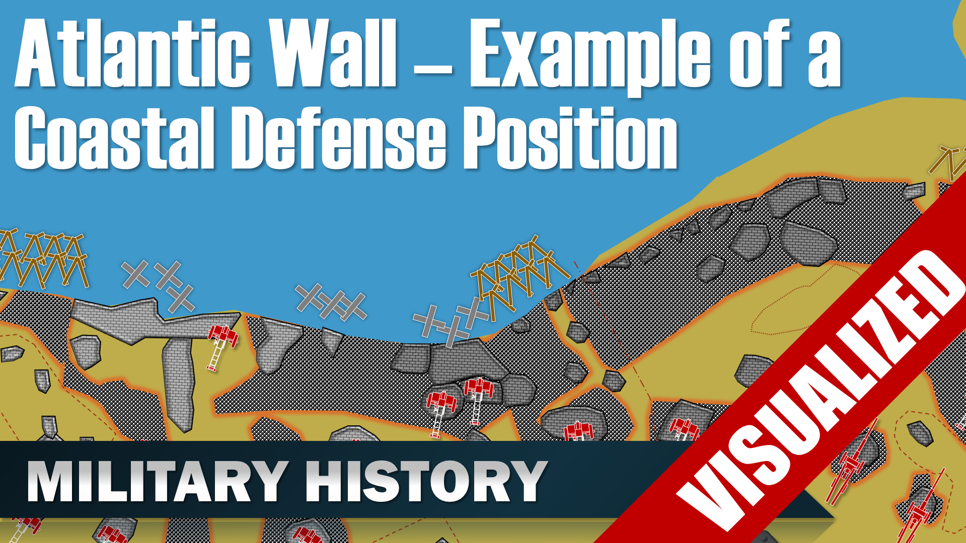 Atlantic Wall Atlantikwall Example Of A Coastal Defense Position
