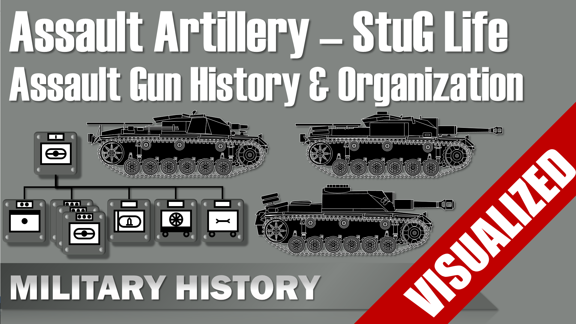 Assault Artillery –  History & Organization of Assault Gun Units #Stug Life