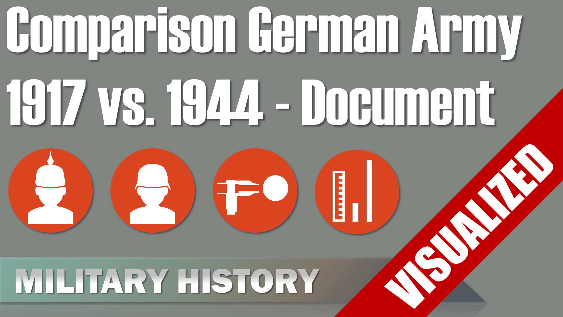 Comparison German Field Army 1917 vs 1944 [Document]