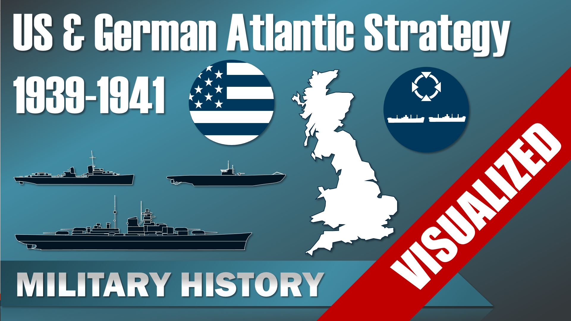 US and German Atlantic Strategy 1939-1941