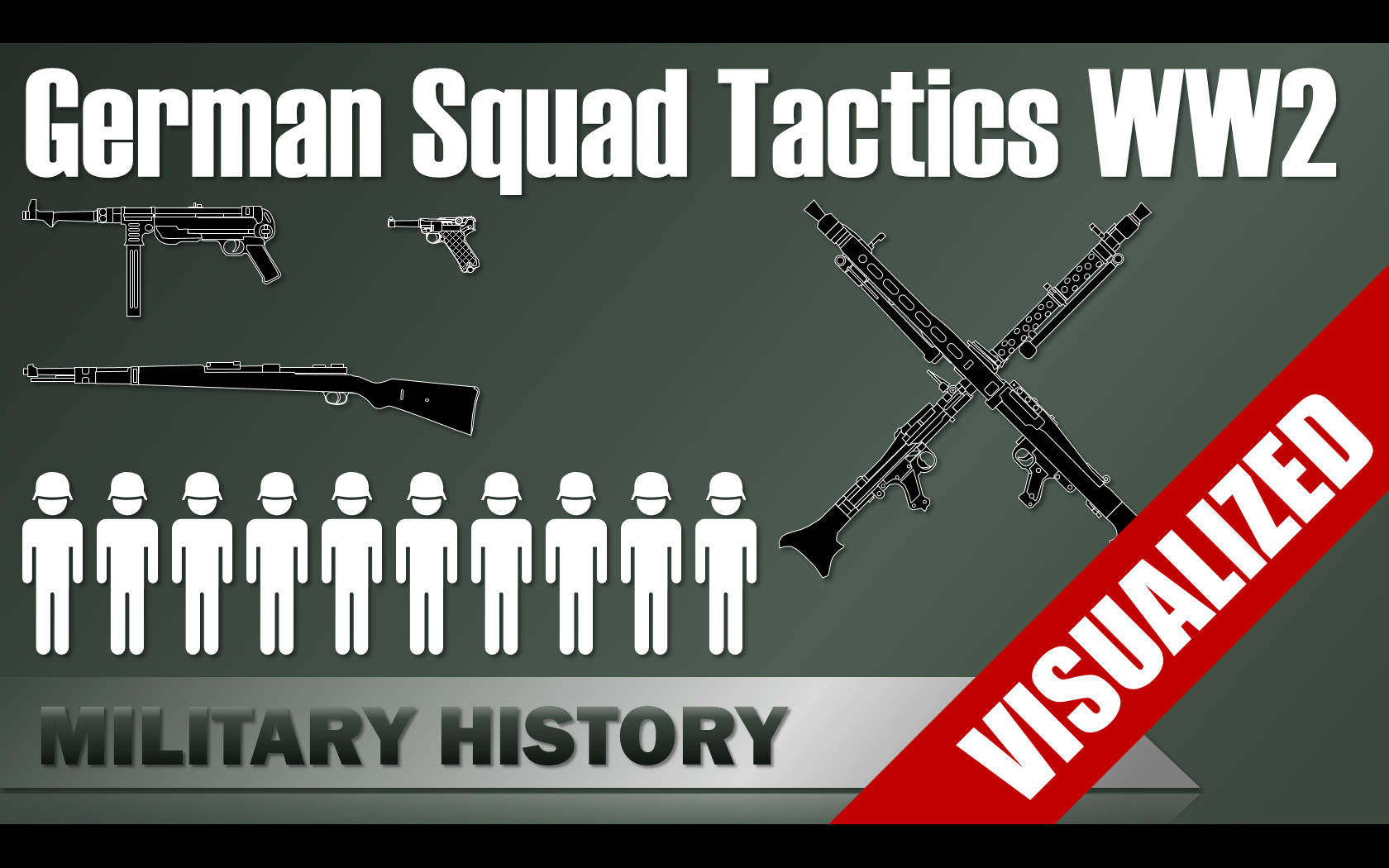 German Squad Tactics In Ww2
